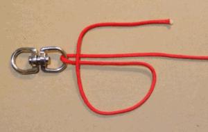 Uni Knot Step 1